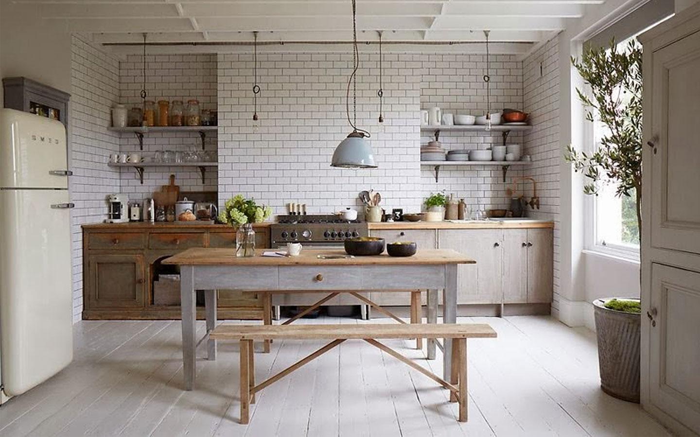 Cocina vintage la piccola - Trabajos de decoracion de interiores ...